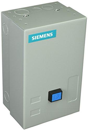 Siemens 14DUD12BD Heavy Duty Motor Starter, Solid State Overload, Auto/Manual Reset, Open Type, NEMA 1 General Purpose Enclosure, Single Phase, 2 Pole, 1 NEMA Size, 5.5-22A Amp Range, A1 Frame (Siemens Motor)