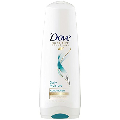 Dove Nutritive Solutions Conditioner Daily Moisture, 12 Fl Oz, Pack of 2 ()