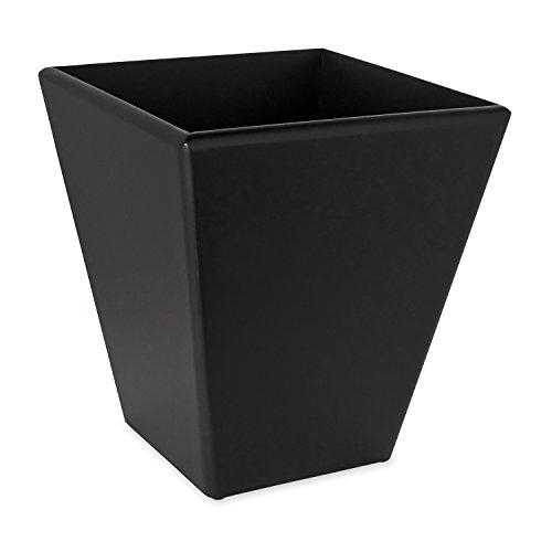 Mahogany Wastebasket - Rolodex Wood Tones Collection Wastebasket, Black (62545)