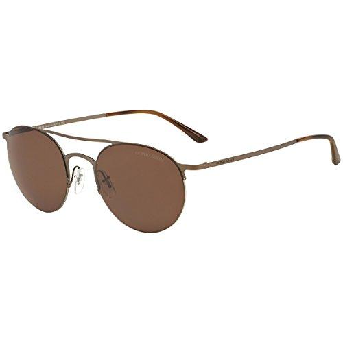 6afa2c0f7941 Galleon - Giorgio Armani AR6023 305773 Brown AR6023 Round Sunglasses Lens  Category 3 Lens