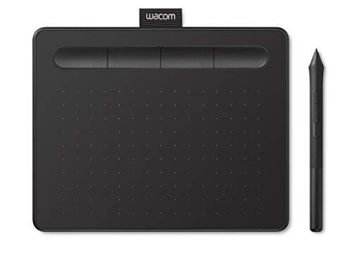 Wacom Intuos S Tableta Gráfica – Tableta Gráfica Portátil para pintar, dibujar, editar photos con 1 software creativo…