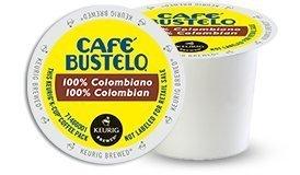 Café Bustelo 100 % Colombian Coffee 48 K Cup Packs (Cafe Bustelo Keurig)