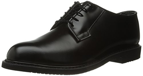 Bates Lites Oxford, Leather Black, 13 E US Bates Mens Leather Oxford