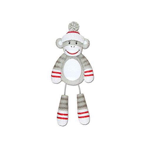 Polar X Sock Monkey Personalized Christmas Tree Ornament]()