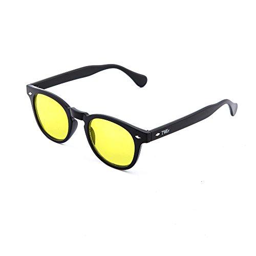 hombre de mujer LOCKE Negro sol TWIG Amarillo degradadas Gafas dAqCwCX