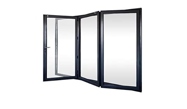 3 puertas plegables de aluminio de aluminio: Amazon.es: Bricolaje y herramientas