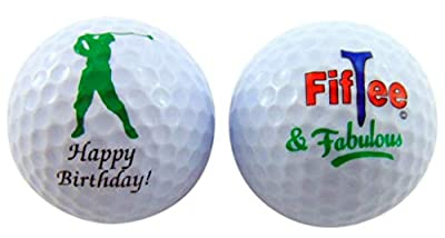 Westman Works 50th Birthday Golf Balls Gift Pack for for Golfers