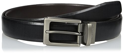 Van Heusen Men's Big-tall Men's Big And Tall Leather Reversible Belt, black/Brown, 52