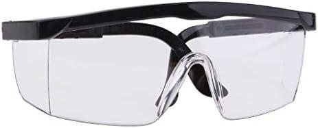 作業メガネ 溶接メガネ 安全ゴーグル 軽量 耐衝撃性 労働 産業用 - 透明