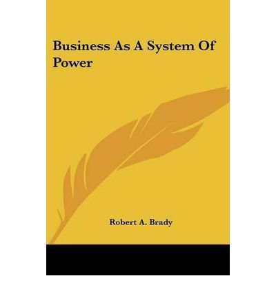 Download Business as a System of Power (Paperback) - Common pdf epub