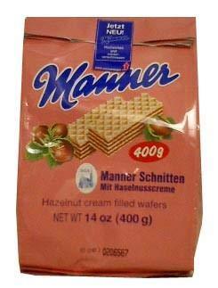 - Hazelnut Cream Filled Wafers (manner) 14oz