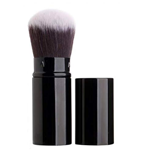 - Retractable Makeup Blush Brushes, Sinide Professional Kabuki Brush Set - Best Foundation Brush Travel Kit for Mineral Powder,Contouring, Cream or Liquid Cosmetics