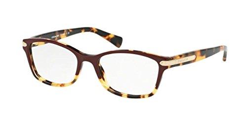 Coach Women's HC6065 Eyeglasses Burgundy Tortoise/Tortoise 51mm by Coach