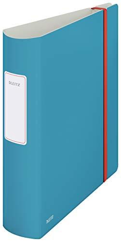 Leitz Qualitäts-Ordner 180° Active, A4, 500 Blatt, 8,2 cm Rückenbreite, Sanftes Blau, Cosy-Serie, 10380061
