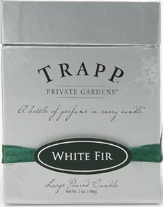 Trapp Private Gardens White Fir Scented Candle