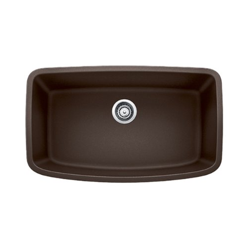 - Blanco 441613 Valea Super Undermount Single Bowl Kitchen Sink, Large, Cafe Brown