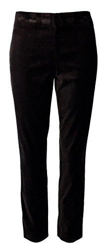 Velvet Cropped Pants - 1