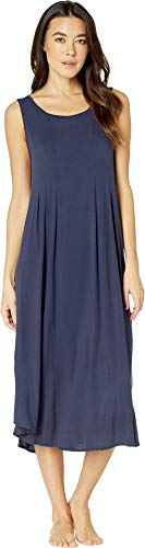 Donna Karan Women's Modal Spandex Jersey Classic Gown Ink Large