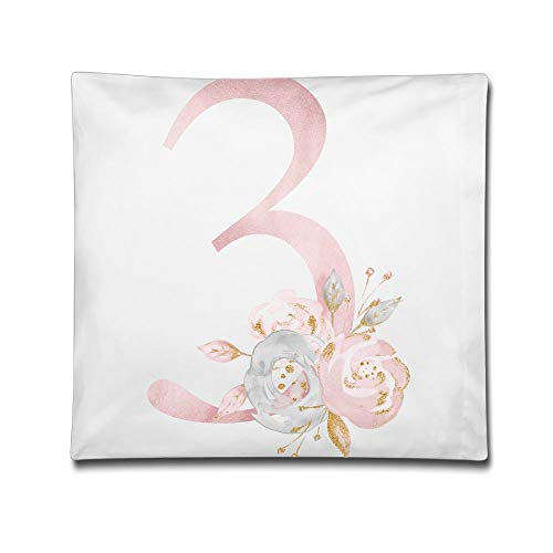 Phyllis Walker Pillow Shams Number 3 Square Throw Pillow Case Cotton Decorative Pillowcase Cushion Cover Sofa Bedroom 18