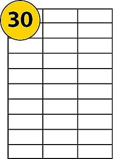 Avery 3489 self-adhesive Multipurpose/copier Labels, 30 labels per ...