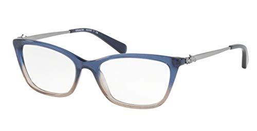 Coach Women's HC6107 Eyeglasses Denim Taupe Glitter Gradient ()