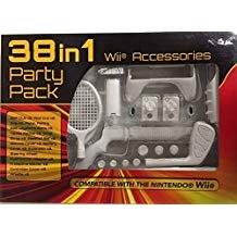 Wii 38 in 1 ATHLETICS Attachement Kit w. Gun + Wheel +