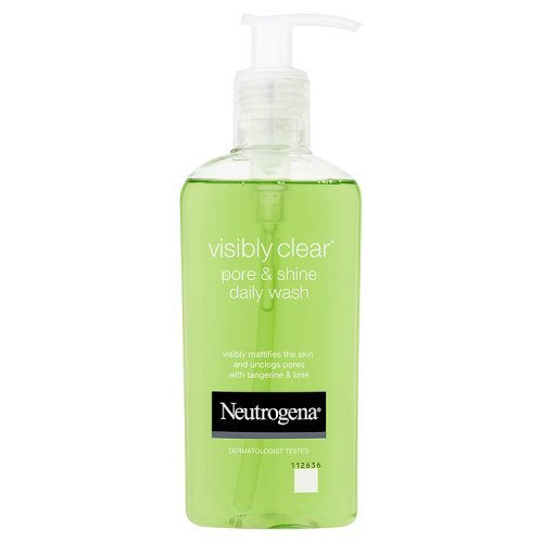 Neutrogena Visibly Clear Pore and Shine Daily Wash, 200ml