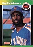 1989 Donruss Baseball Card #152 Mookie Wilson Mint