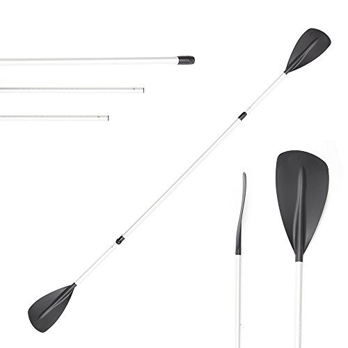 - Stage Switchblade Double-Bladed Two-Sided Stand Up Paddle Board SUP Paddle