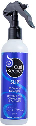 Curly Hair Solutions Curl Keeper SLIP - 30 Second Detangler, 8 Ounce / 240 Milliliter