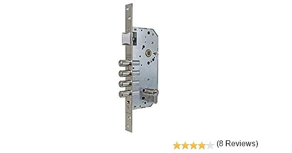 Cil.30x40mm Tesa Assa Abloy R200B567N Cerradura De Seguridad Monopunto Con Cilindro T60 Set de 6 Piezas Latonado