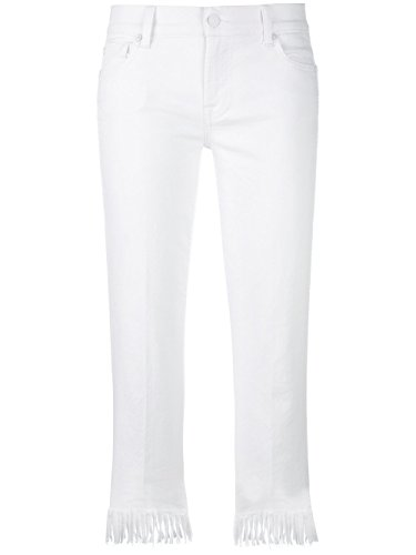 Syrv030wbwhite 7 All Cotone For Mankind Jeans Bianco Donna xBUPw