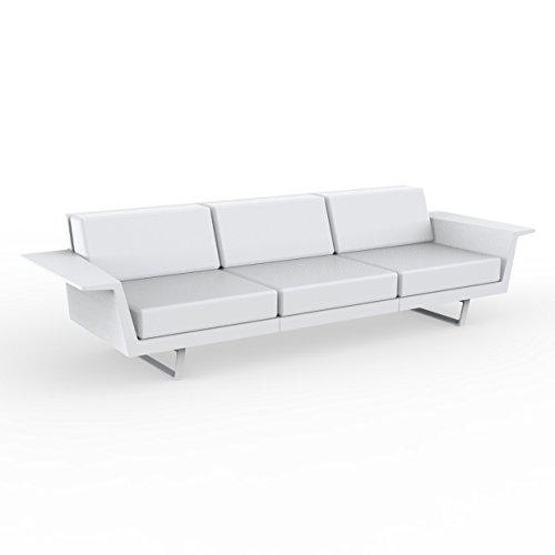Vondom Flat Sofa 3 White