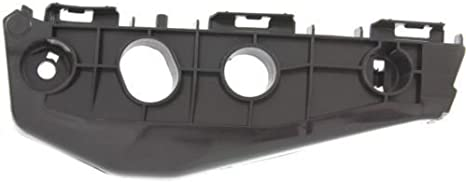 DAT 11-13 TOYOTA COROLLA BLACK FRONT BUMPER BRACKET SUPPORT RIGHT PASSENGER SIDE TO1043114