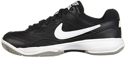 NIKE Men's Court Lite Athletic Shoe, Black/White/Medium Grey, 8.5 Regular US by Nike (Image #5)