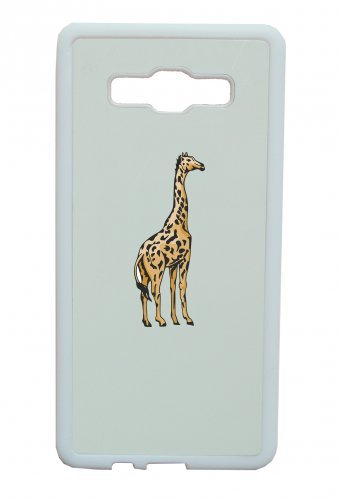 """Smartphone Case Apple IPhone 4/ 4S """"Giraffe große Tiere stehend Wildnis Madagaskar Dschungel Freiheit"""" Spass- Kult- Motiv Geschenkidee Ostern Weihnachten"""