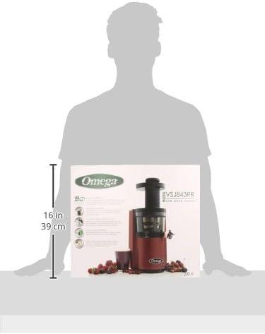 Omega VSJ843RR - Exprimidor eléctrico, 1 L, Color Rosso: Amazon.es ...