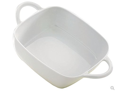 Pillivuyt Eden Lasagne Baker Square, 8.5 x 8.5 Inches, 2.25 Quart Capacity