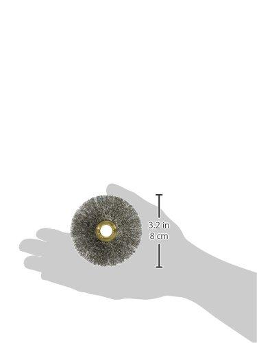 0.008 0.008 Osborn 00011095SP 11095Sp Crimped Wire Wheel Brush Stainless Steel