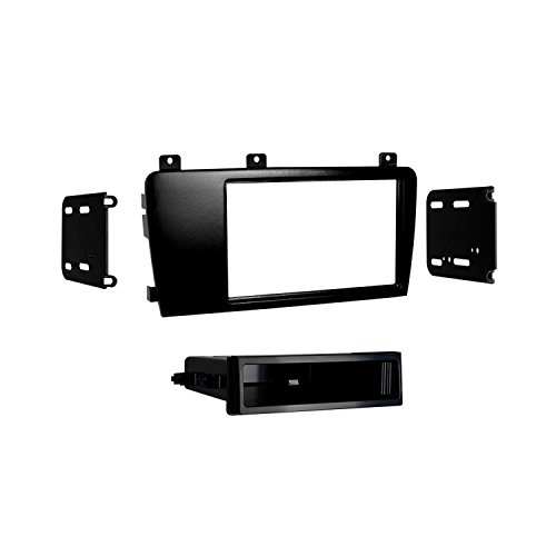 Metra 99-9227 Single/Double DIN Installation Kit for Select 2005-09 Volvo S60 and V70 (Black) ()