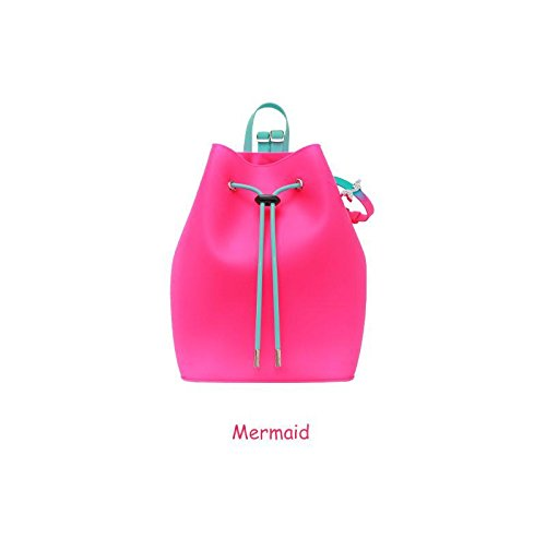 - American Jewel Yummy Bubble Gum Scented Silicone Bucket Backpack
