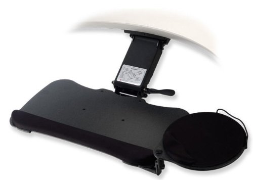 Ergonomic Keyboard Tray 25977 Easy Riser Extended Articulating Arm / Omni Board Keyboard Tray ()