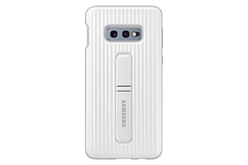 Samsung Galaxy S10e Rugged Protective Case with Kickstand, White