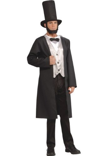 Abe Lincoln Costume - Adult Costume -
