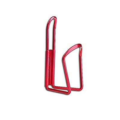 NOLOGO Fssh-mlx New Aluminum Alloy Bike Cup Mount Bracket Outdoor Bicycle Cycling Drink Water Bottle Rack Holder Cage #15 (Color : Red): Home & Kitchen
