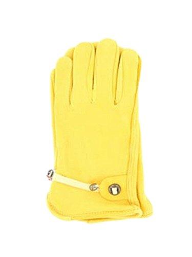 M&F Western H2112008 Men's HDX Deerskin w/ Ball & Tab Gloves Tan - Justin F