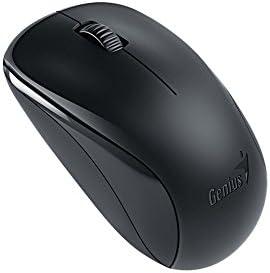 Genius NX-7000 - Ratón (Ambidextrous, BlueEye, RF Wireless, 1200 dpi, Black)