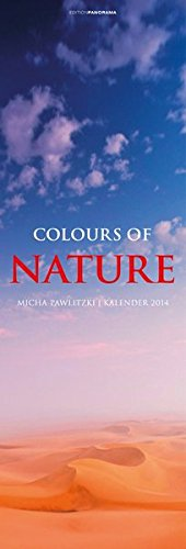 Colours of Nature 2014: Premiumkalender Vertical