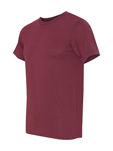 Bodek And Rhodes 60131747 3001 Bella Canvas Unisex Jersey Short-Sleeve Tee Heather Cardinal - 2XL