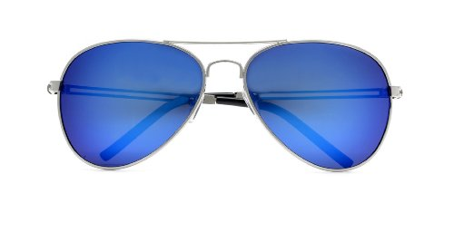 445f6b87f Triple Crown Full Mirror Color Reflective Lens Metal CHP Cop Top Gun Aviator  Sunglasses - Buy Online in Oman.   insignia Products in Oman - See Prices,  ...